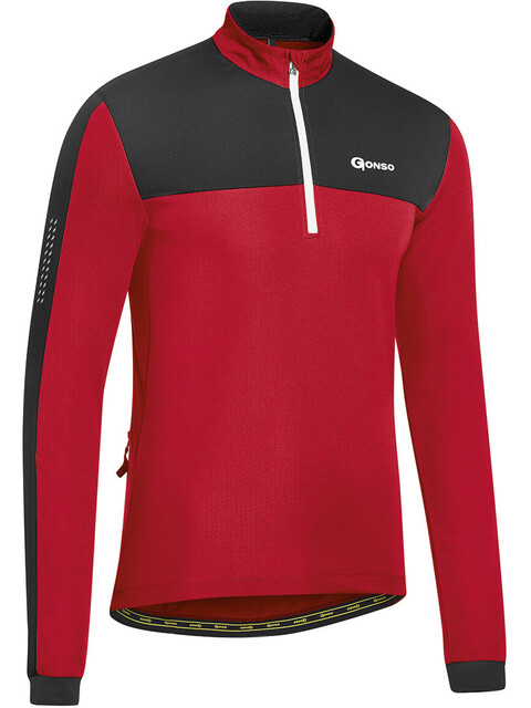 Gonso Kreep - Maillot manches longues Homme - rouge